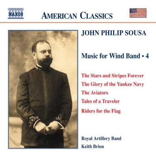 Sousa - Music for Wind Band vol.4 (FLAC)