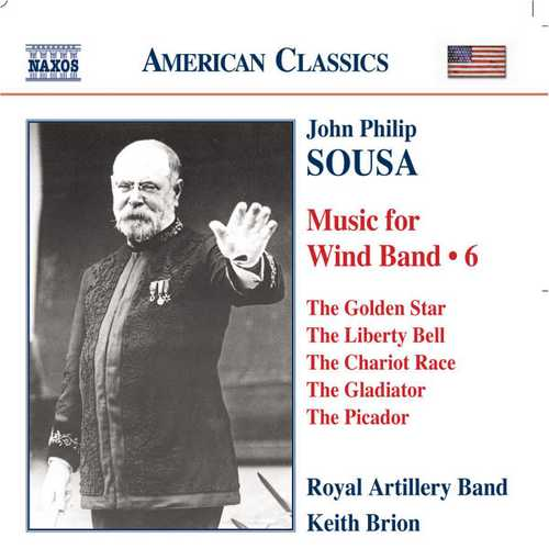 Sousa - Music for Wind Band vol.6 (FLAC)