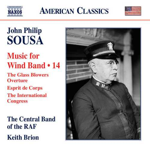 Sousa - Music for Wind Band vol.14 (24/96 FLAC)