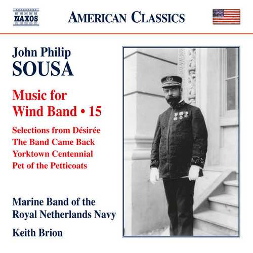 Sousa - Music for Wind Band vol.15 (24/96 FLAC)