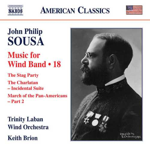 Sousa - Music for Wind Band vol.18 (24/96 FLAC)