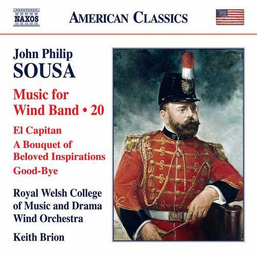 Sousa - Music for Wind Band vol.20 (24/96 FLAC)