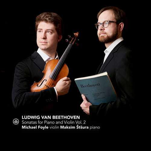 Štšura, Foyle: Beethoven - Sonatas for Piano and Violin vol.2 (24/96 FLAC)