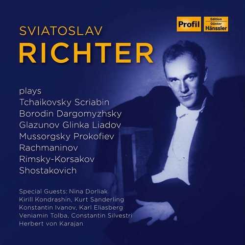 Sviatolsav Richter plays Russian Composers (FLAC)