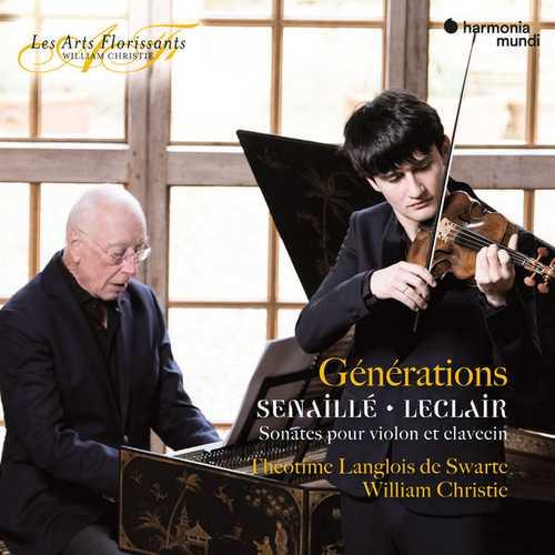 Swarte, Christie: Senaillé, Leclair - Générations. Sonates pour Violon et Clavecin (24/192 FLAC)
