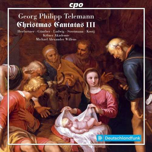 Willens: Telemann - Christmas Cantatas III (FLAC)
