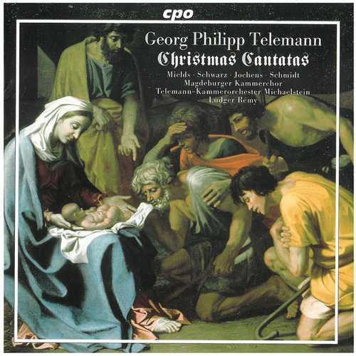 Rémy: Telemann - Christmas Cantatas (FLAC)