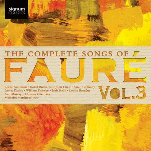 The Complete Songs of Gabriel Fauré vol.3 (24/96 FLAC)