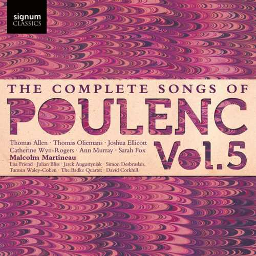 The Complete Songs of Francis Poulenc vol.5 (24/48 FLAC)