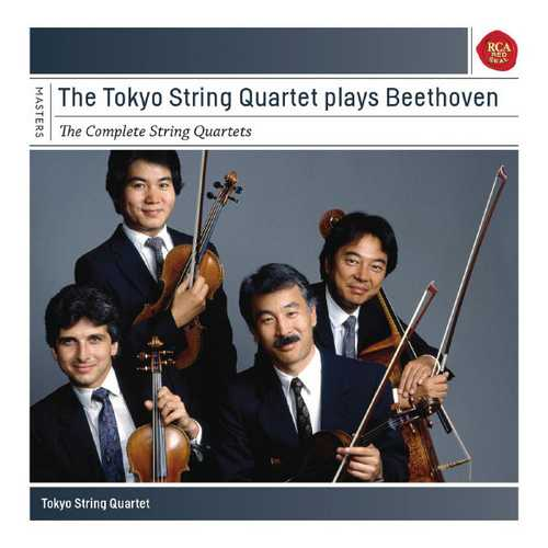 The Tokyo String Quartet plays Beethoven: The Complete String Quartets (FLAC)
