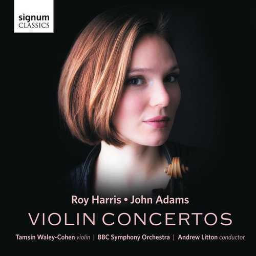 Waley-Cohen, Litton: Harris, Adams - Violin Concertos (24/96 FLAC)