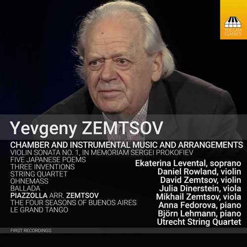 Yevgeny Zemtsov - Chamber and Instrumental Music and Arrangements (24/88 FLAC)