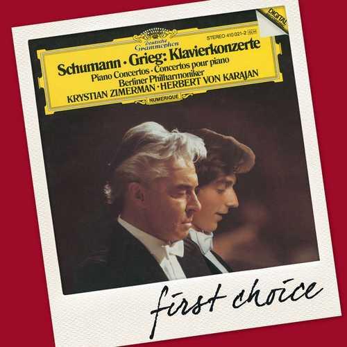 Zimerman, Karajan: Schumann, Grieg - Piano Concertos (FLAC)