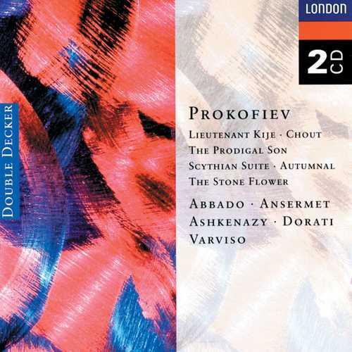 Prokofiev - Lieutenant Kijé, Chout, The Prodigal Son, Scythian Suite, Autumnal, The Stone Flower (FLAC)