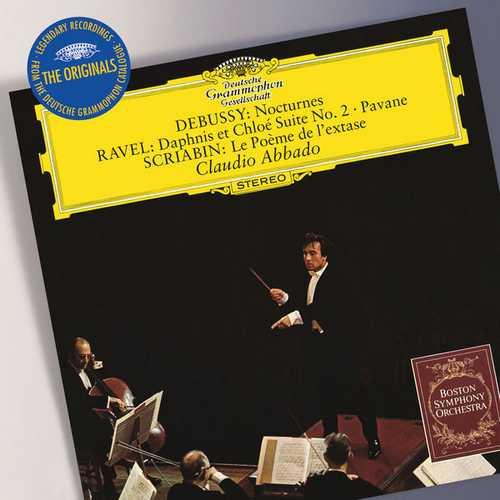 Abbado: Debussy - Nocturnes, Ravel - Daphnis et Chloé Suite no.2, Scriabin - Le Poème de l'extase (FLAC)
