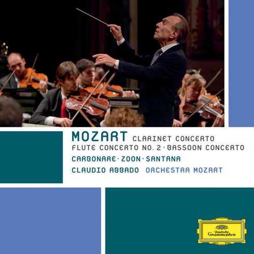 Abbado: Mozart - Clarinet Concerto, Flute Concerto no.2, Bassoon Concerto (FLAC)