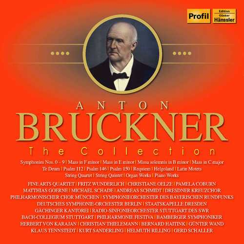 Anton Bruckner - The Collection (FLAC)