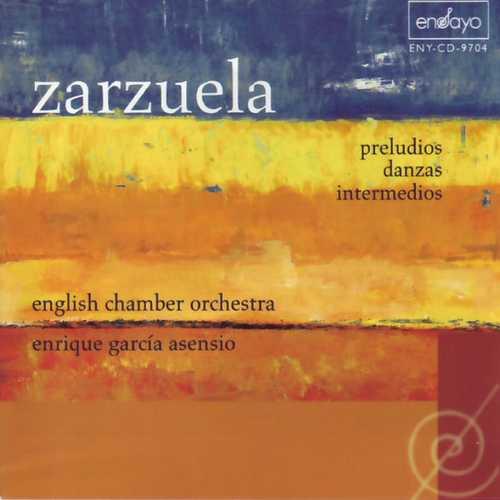 Asensio: Zarzuela - Preludios, Danzas, Intermedios (FLAC)