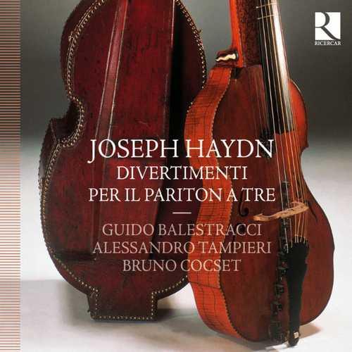 Balestracci, Tampieri, Cocset: Haydn - Divertimenti Per Il Partiton A Tre (24/44 FLAC)