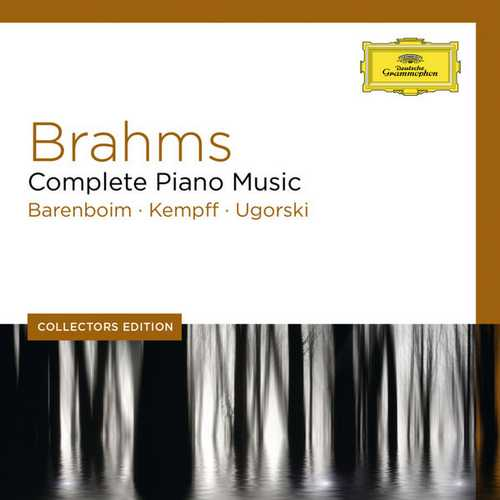 Barenboim, Kempff, Ugorsky: Brahms - Complete Piano Music (FLAC)