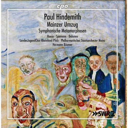 Bäumer: Hindemith - Mainzer Umzug, Symphonic Metamorphoses (FLAC)