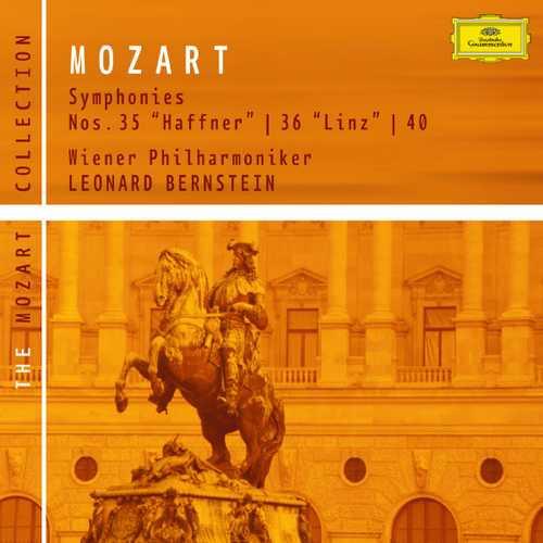 Bernstein: Mozart - Symphonies no.35, 36 & 40 (FLAC)