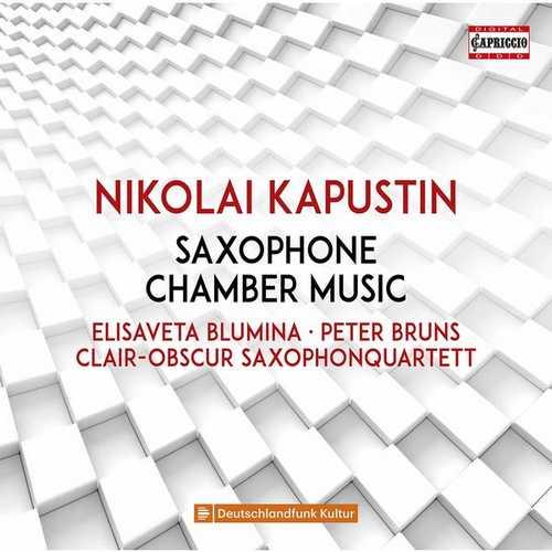 Blumina, Bruns, Enzel, Clair-Obscur Saxophonquartett: Saxophone Chamber Music (FLAC)