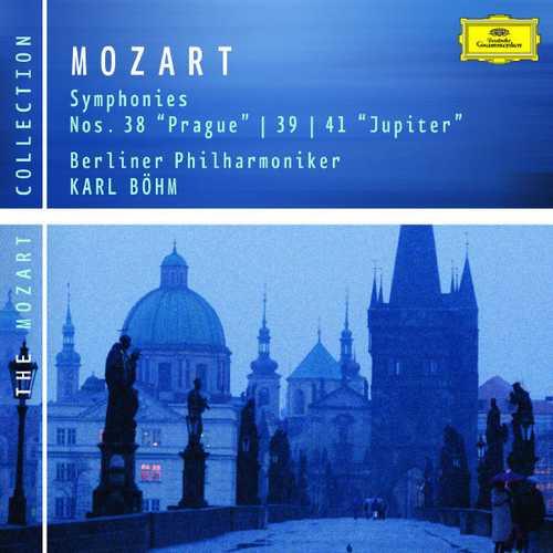 Böhm: Mozart - Symphonies no.38, 39 & 41 (FLAC)