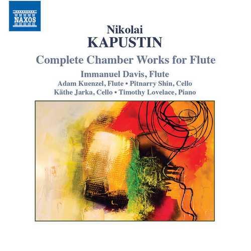 Davis: Kapustin - Complete Chamber Works for Flute (24/48 FLAC)