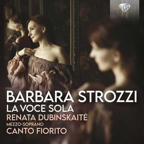 Dubinskaitė: Strozzi - La Voce Sola (FLAC)