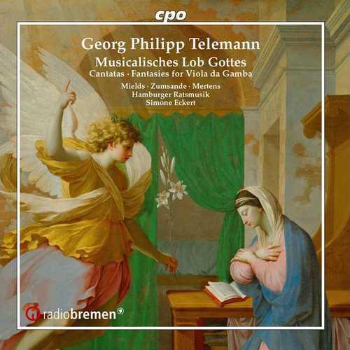 Eckert: Telemann - Musicalisches Lob Gottes (FLAC)