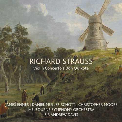 Ehnes, Müller-Schott, Davis: Strauss - Violin Concerto, Don Quixote (FLAC)