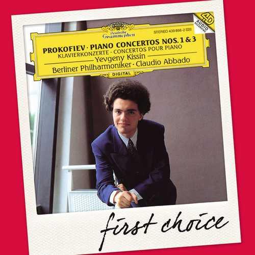 Kissin: Prokofiev - Piano Concertos no.1 & 3 (FLAC)