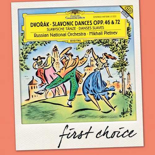 Pletnev: Dvorák - Slavonic Dances op.46 & 72 (FLAC)