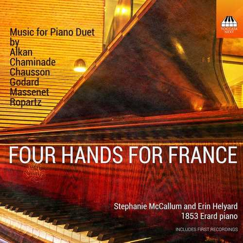 McCallum, Helyard: Four Hands for France - Music for Piano Duet (24/96 FLAC)