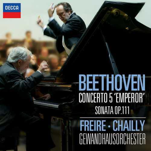 "Freire, Chailly: Beethoven - Concerto no.5 ""Emperor"", Sonata op.111 (24/96 FLAC)"