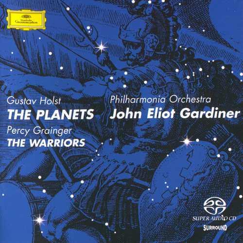 Gardiner: Holst - The Planets, Grainger - The Warriors (24/88 FLAC)