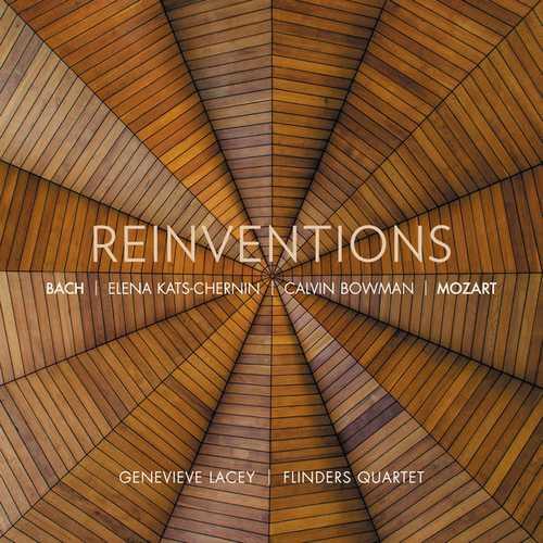 Genevieve Lacey, Flinders Quartet - Reinventions (FLAC)