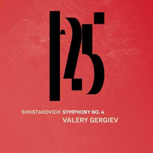 Gergiev: Shostakovich - Symphony no.4 (24/48 FLAC)