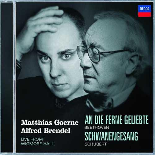 Goerne, Brendel: Beethoven - An Die Ferne Geliebte, Schubert - Schwanengesang. Live 2003 (FLAC)