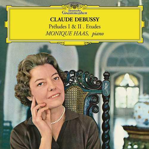 Monique Haas: Debussy - Préludes I & II, Etudes (24/96 FLAC)