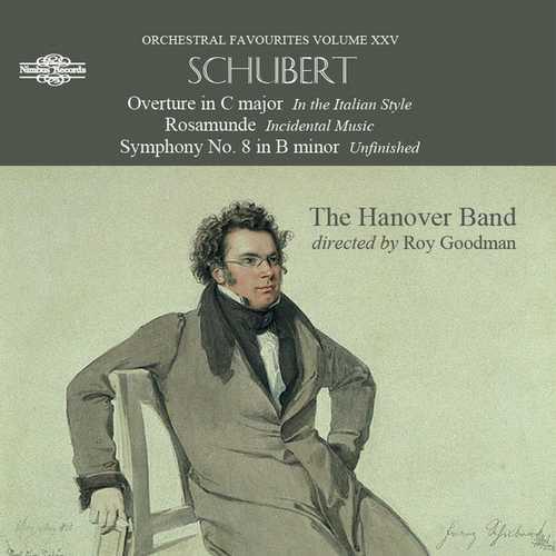 Goodman: Schubert - Overture in C major, Rosamunde, Symphony no.8 (FLAC)