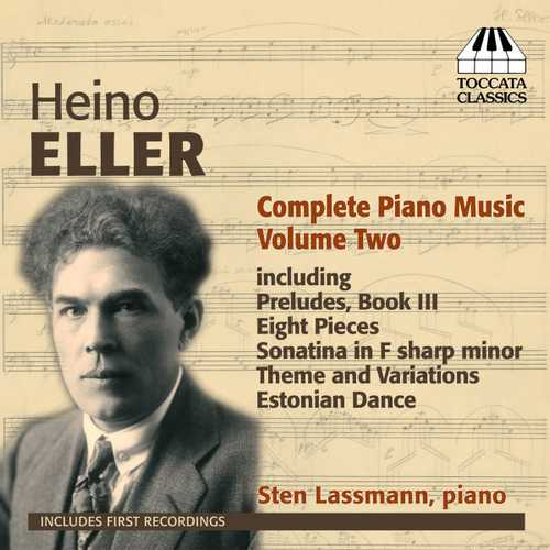 Heino Eller - Complete Piano Music vol.2 (FLAC)