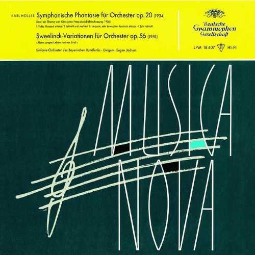 Jochum: Höller - Symphonic Fantasy, Sweelinck Variations (FLAC)