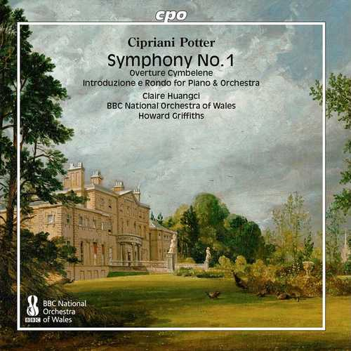 Huangci, Griffiths: Potter - Symphony no.1, Orchestral Works (FLAC)