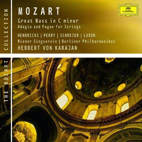 Karajan: Mozart - Great Mass, Adagio and Fugue for Strings (FLAC)
