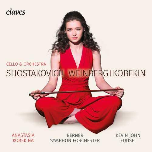 Anastasia Kobekina, Edusei: Shostakovich, Weinberg, Kobekin (24/96 FLAC)