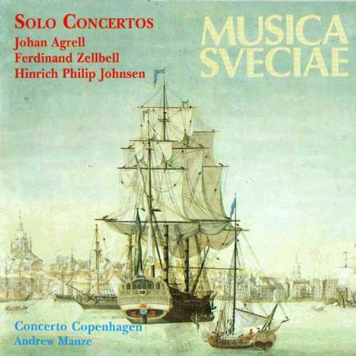 Manze: Agrell, Zellbell, Johnsen - Solo Concertos (FLAC)