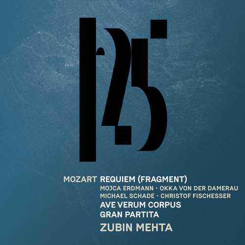 Mehta: Mozart - Requiem, Ave Verum Corpus, Gran Partita (24/48 FLAC)