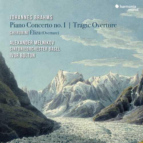 Melnikov, Bolton: Brahms - Piano Concerto no.1, Tragic Overture, Cherubini - Éliza (24/96 FLAC)